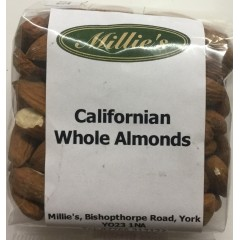 Californian whole almonds 160g