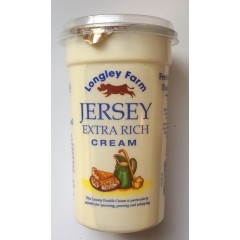 Jersey Double Cream Large