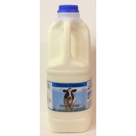 Full fat milk 2 litres