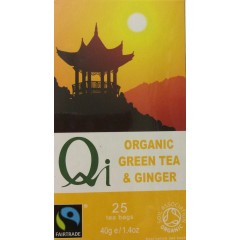 Green Tea & Ginger Organic