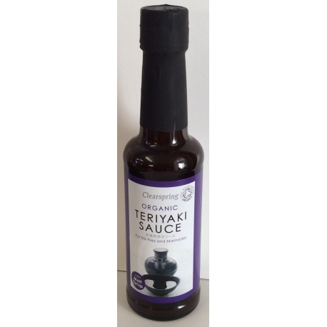 Organic teriyaki sauce 150 ml