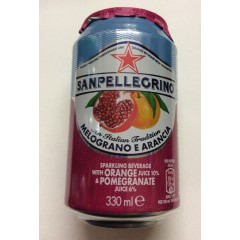 Sanpellegrino Orange & pomegranite 330ml