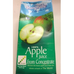 Sunpride Apple juice 1 litre