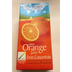 Sunpride Orange juice 1 litre