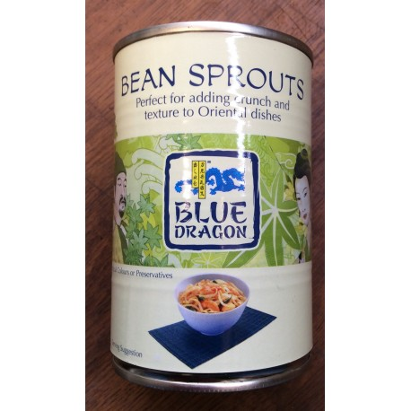 Beansprouts tins 410 g