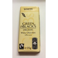 Green&blacks organic milk chocolate 35%cocoa 35g