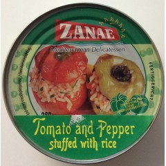 Tomatoe and pepper stuffed with rice 280 g