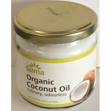Organic coconut oil 320 g