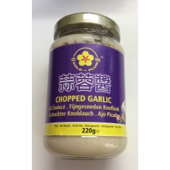Chopped garlic 220 g