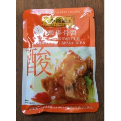 Lee Kum kee sauce for sweet&soiur ribs 80g