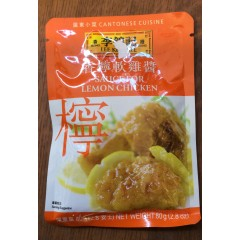 Lee Kum kee sauce for lemon chicken 80g