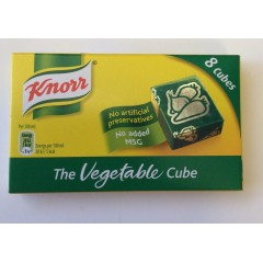Knorr vegetable cube 80g