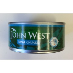 Joh west tuna chunks 160g