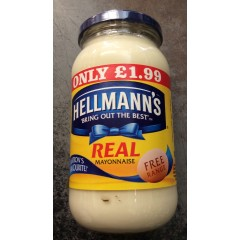 Hellmans mayonnaise 400g