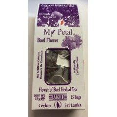 My petal herbal bael flower tea bags 37.5g
