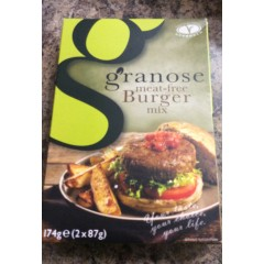 Granose meat free burger mix 174g