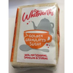 Whitworths golden granulated suger 1kg