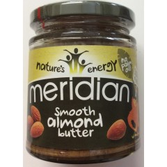 Smooth almond butter. 170g