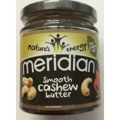 Smooth cashew butter. 170 g