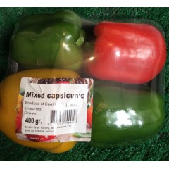 Spanish peppers. 4 pack.