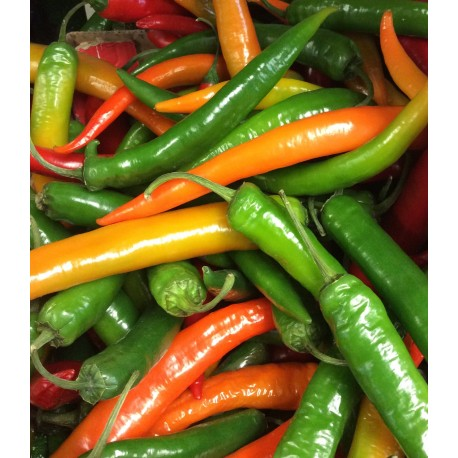 Loose chillies
