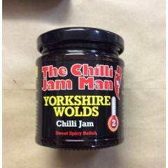 The Chilli Jam Man Yorkshire Wolds Chilli Jam