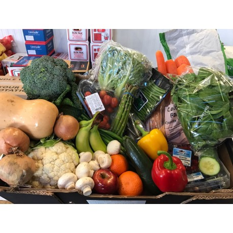 Weekend special fruit and veg box