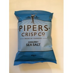 Pipers crisps sea salt 40g