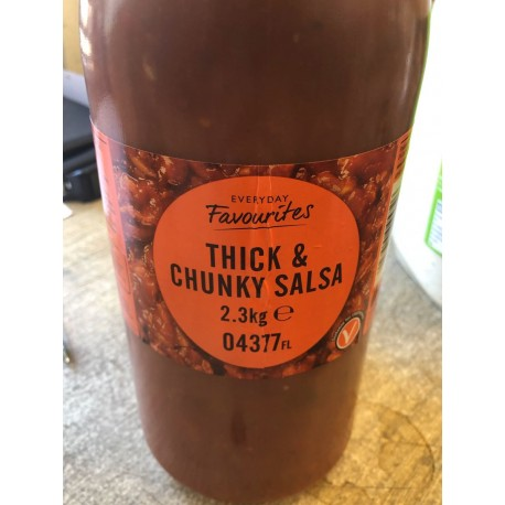 Thick and chunky salsa 2.3 kg