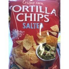 Tortilla chips salted 475 g