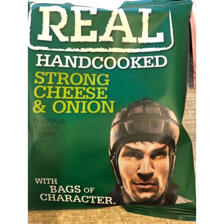 Real crisps strong cheese & onion 35 g
