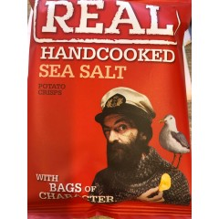 Real crisps sea salt 35 g