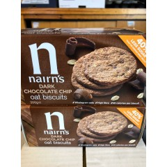 Nairns dark chocolate oat biscuits 200 g