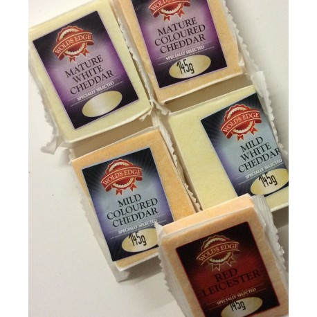Wolds edge cheeses 145g