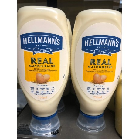 Hellman's mayonnaise 750 ml