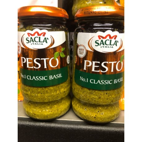 Sacla green pesto 290 g