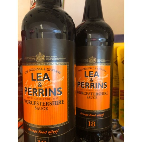 Lea perrins Worcester sauce 568 ml