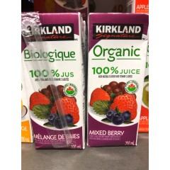 Organic juice mixed berries 200 ml