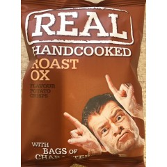 Real crisps roast ox 35 g