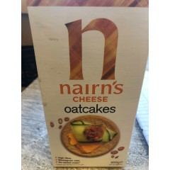 Nairns cheese oatcakes 200 g