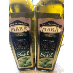 Extra virgin olive oil with basil 250 ml