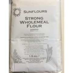 Strong Wholemeal Flour 1.5 kg