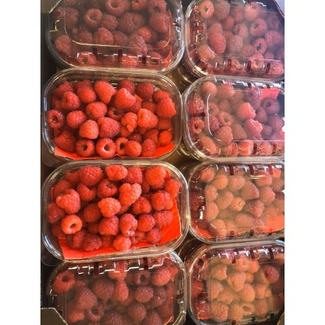 York grown raspberries