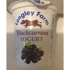 Longley farm'black currant' yoghurt 150gm