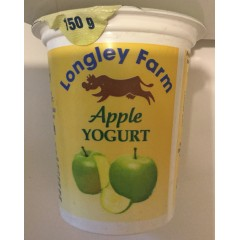 Longley farm 'Apple' yoghurt 150ml