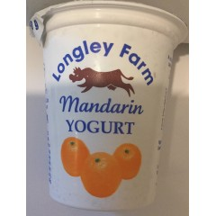 Longley farm 'mandarin' yoghurt 150ml