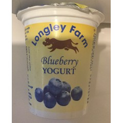 Longley farm' blueberry' yoghurt 150ml