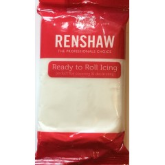 Renshaw ready to roll icing white 250g