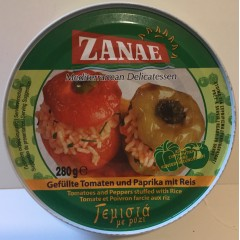ZANAE tomatoes and peppers stuffed with rice. 280g
