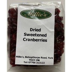 Dried Sweetened Cranberries 160gm